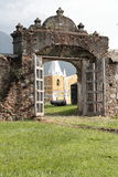 Fortification Santa Barbara em Trujillo fotografia de stock royalty free