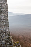 Fortification stone wall Royalty Free Stock Photos