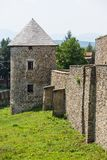 Fortification tower in Levoca, Slovakia Stock Photo