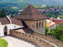 Free Fortification Tower Of The Castle Of Kremnica Royalty Free Stock Photo - 29604885