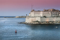 Fortification of Valletta Royalty Free Stock Photography