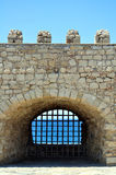Fortification: Venetian castle (Koules). Venetian fortress in the Island of Crete, Greece Stock Images
