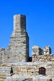 Fortification: Venetian castle (Koules). Travel Europe: Venetian fortress in the Island of Crete, Greece Stock Photography