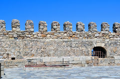 Fortification: Venetian castle (Koules), in Crete, Stock Photo