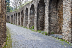 Fortification walls in Bad Muenstereifel Royalty Free Stock Photos