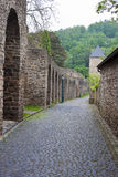 Fortification walls in Bad Muenstereifel Stock Images