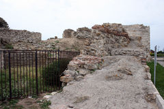 FORTIFICATION WALLS Stock Image