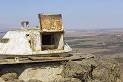 The fortifications on the border with Syria Royalty Free Stock Photos