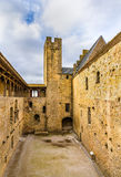 Fortifications of Carcassonne - France Stock Images