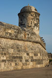 Fortifications of Cartagena Royalty Free Stock Image