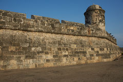 Fortifications of Cartagena Stock Image