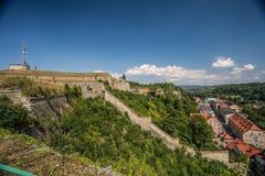 Fortifications de forteresse de Klodzko Photo libre de droits