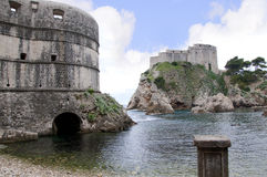 Fortifications in Dubrovnic Stock Photos
