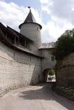 Fortifications et tour de visionnement Images stock
