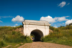 Fortifications gate Royalty Free Stock Photo