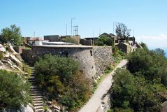 Fortifications, Gibraltar. Royalty Free Stock Photo