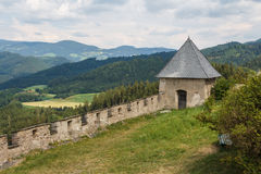Fortifications of Hochosterwitz Stock Image