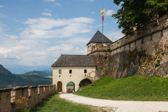 Fortifications of Hochosterwitz Royalty Free Stock Photo