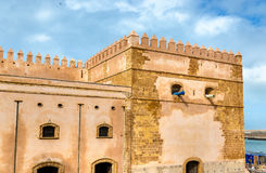 Fortifications of Kasbah of the Udayas in Rabat, Morocco Stock Image
