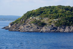Fortifications, Langesund, Norway. Royalty Free Stock Photography