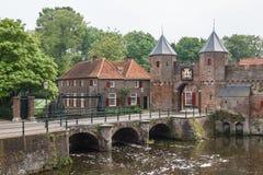 Fortifications médiévales d'Amersfoort Images libres de droits