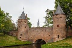 Fortifications médiévales d'Amersfoort Photos libres de droits