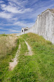 Among the Fortifications of Palmanova Royalty Free Stock Photography