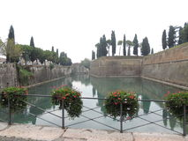 Fortifications of Peschiera on Garda Lake Royalty Free Stock Images