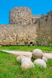Fortifications of Rhodes. Greece Royalty Free Stock Photos