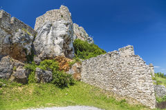 Fortifications on the rocks Stock Photos