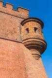 Fortifications surrounding Wawel Royal Castle in Krakow Royalty Free Stock Image