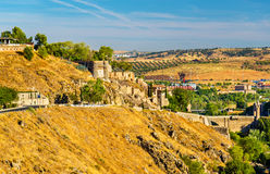 Fortifications in Toledo, Spain Stock Photography