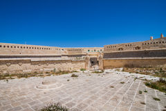 Fortifications of Valletta on the Malta island Royalty Free Stock Image