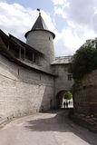 Fortifications and viewing tower Stock Images