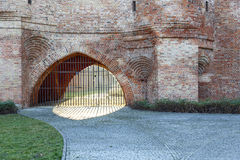 Fortifications of Warsaw Royalty Free Stock Images