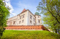 European Medieval castle fortifications Stock Photography