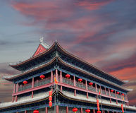 Fortifications of Xian (Sian, Xi'an), China Stock Photography
