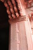 Fortificazione 02 di Agra Immagini Stock