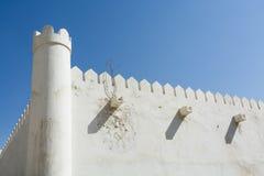 Fortificazione Abu Dhabi di Al Hosn Fotografie Stock Libere da Diritti