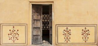Fortificazione ambrata, Jaipur, India Immagine Stock