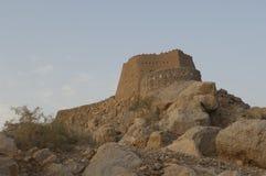 Fortificazione araba nel Ras al-Khaimah Doubai Immagini Stock Libere da Diritti