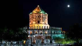 Fortificazione Bangkok, Tailandia di Phra Sumen Fotografia Stock