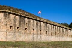 Fortificazione Barrancas Pensacola Fotografia Stock Libera da Diritti