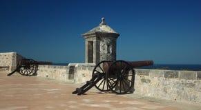 Fortificazione in Campeche Fotografia Stock