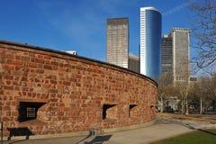 Fortificazione Clinton e grattacieli Fotografia Stock