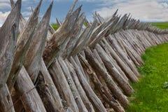 Fortificazione dei Palisades al memoriale di Dybboel Fotografie Stock Libere da Diritti