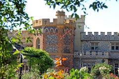 Fortificazione del castello di Whitstable Fotografia Stock