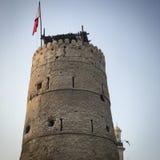 Fortificazione del Dubai fotografia stock libera da diritti