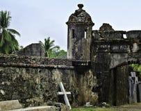 Fortificazione del Panama Fotografie Stock Libere da Diritti