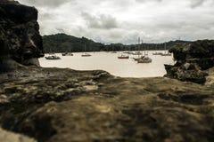 Fortificazione del pirata nel Panama fotografia stock